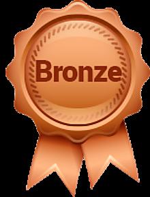A Bronze trophy.